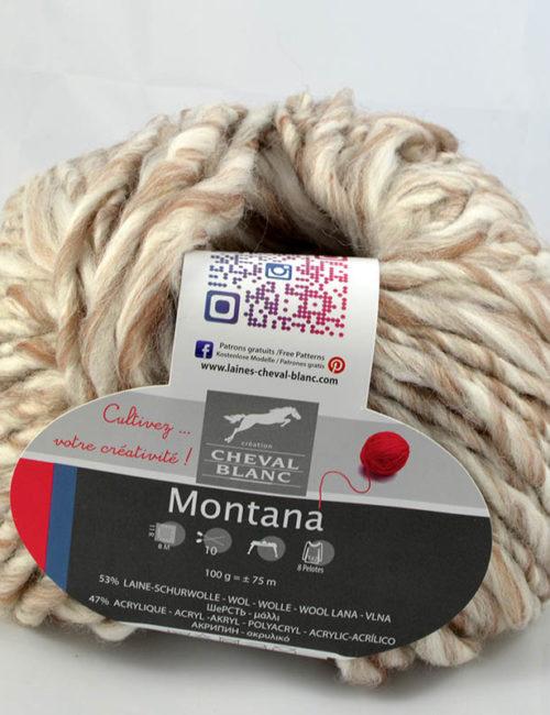 Montana 120 biela/béžová