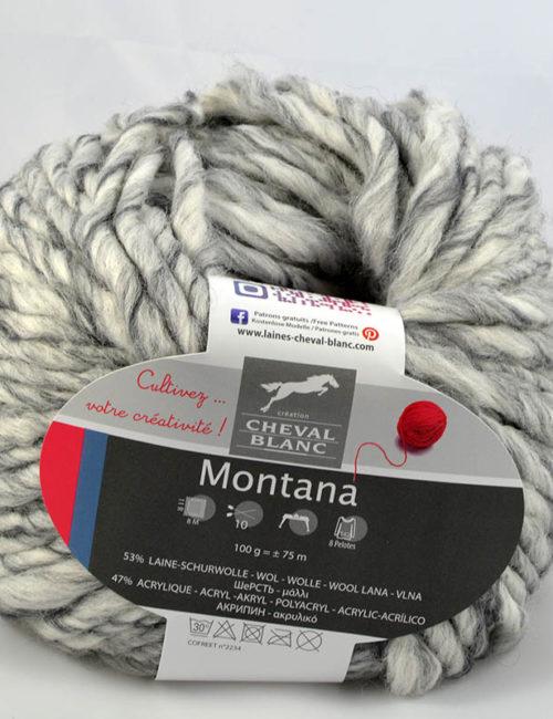 Montana 125 biela/sivá
