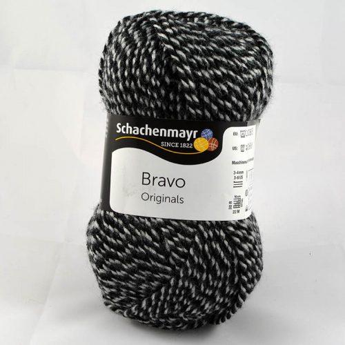 Bravo 8181 čierna/sivá muliné