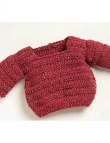Darček: Návod na Háčkovaný detský pulóvrik