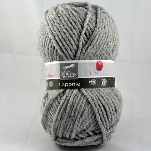 Laponie 58 flanelová sivá