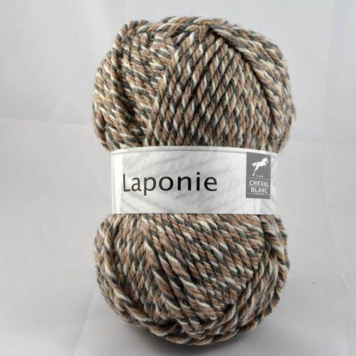 Laponie 821 Smotanová/sivá/hnedá