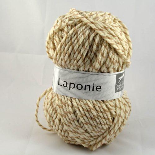 Laponie 824 Prírodná biela/béžová