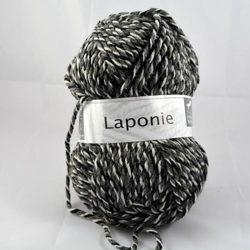 Laponie 833 Smotana/sivá/čierna