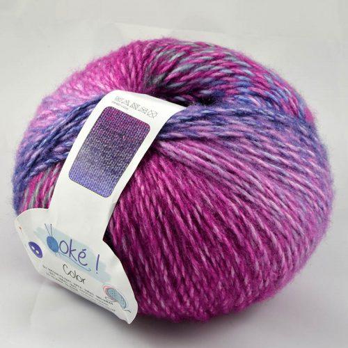Color 33 fialová/ružová