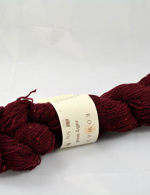 Valley tweed 106 vínová