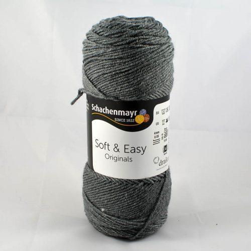 Soft&Easy 92 stredná sivá
