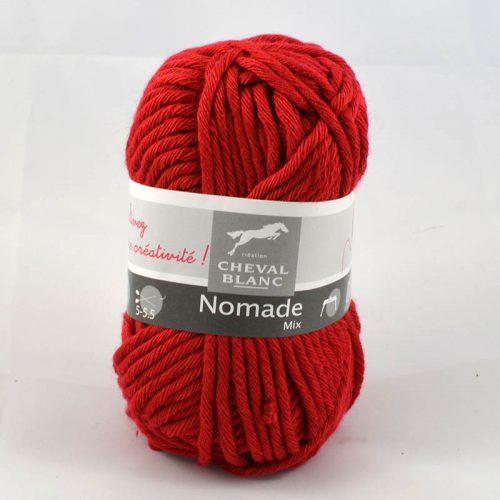 Nomade 4 tmavšia červená