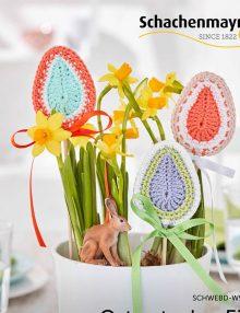 Veľkonočné vajíčka do kvetináčov