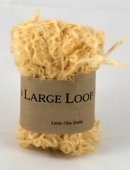 Wild large loop mohair prírodný blond
