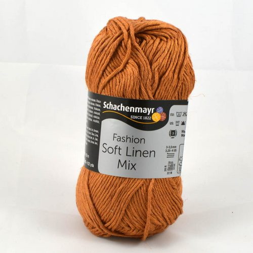 Soft Linen Mix 22 medená