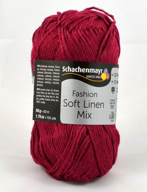 Soft Linen Mix 34 cyklámen