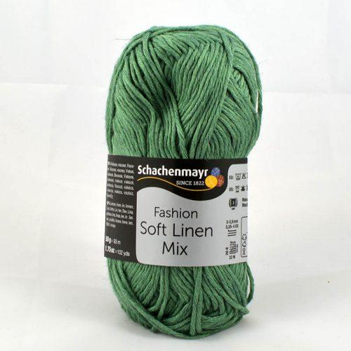 Soft Linen Mix 71 Morská zelená