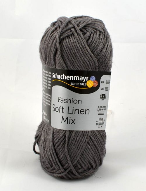 Soft Linen Mix 92 Antracit