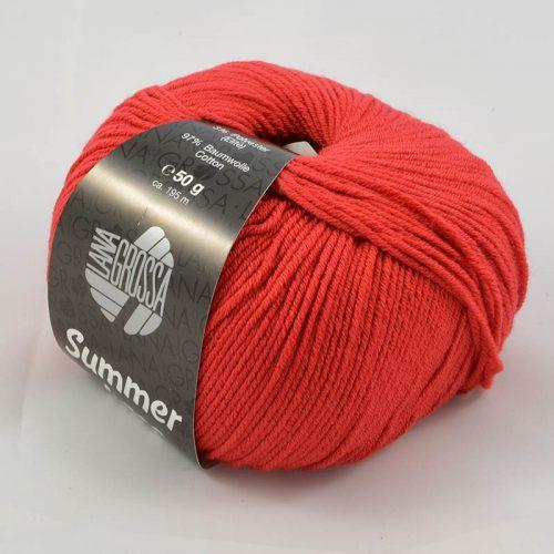 Summer lace 12 červená