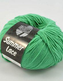 Summer lace 22 smaragdová zelená