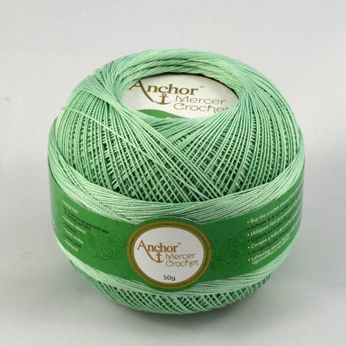 Anchor Mercer Crochet 20 206 svetlá zelená