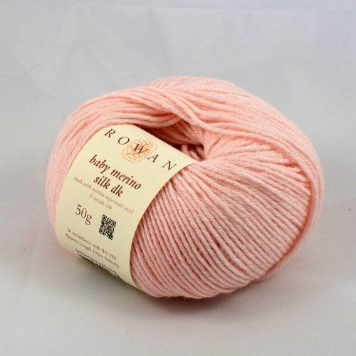 Baby Merino Silk DK 704 svetlá ružová