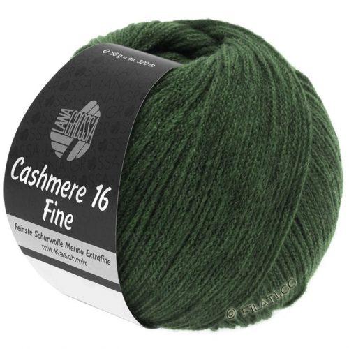 Cashmere 16 fine 20 Tmavá zelená