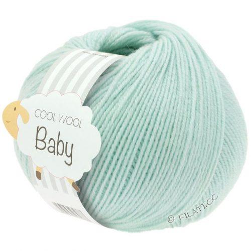 Cool Wool baby 257 svetlá tyrkysová