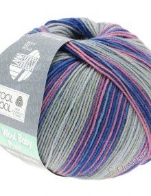 Cool Wool baby 401 sivá/modrá/ružová