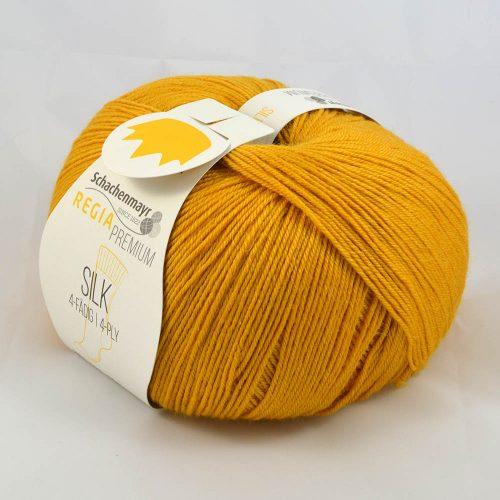 Regia Premium Silk 25 horčicová