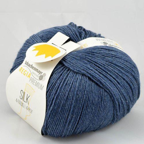 Regia Silk 53 džínsová modrá