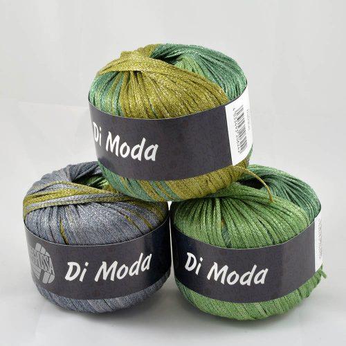 Di Moda 18 olivová/zelená/sivá