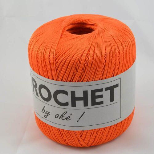 Crochet by OKE 271 oranžová