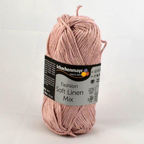 Soft Linen Mix 40 svetlá ružová