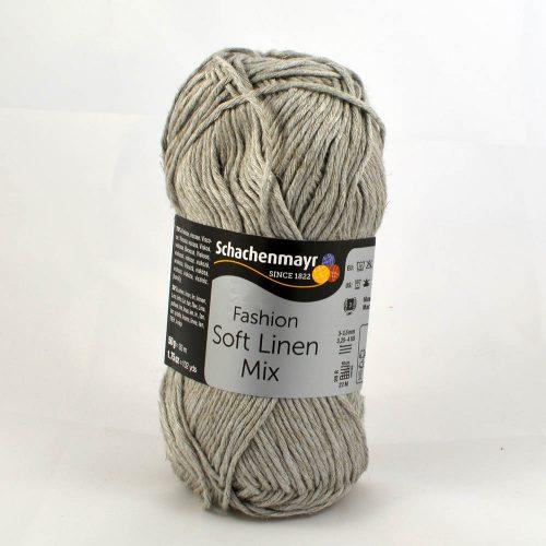 Soft Linen Mix 90 strieborná