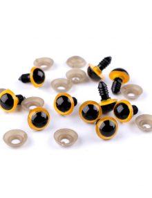 Bezpečnostné oči žlté