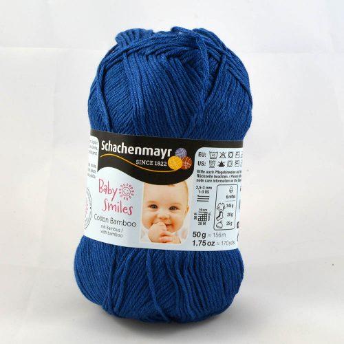 Cotton Bamboo 1052 džínsová modrá