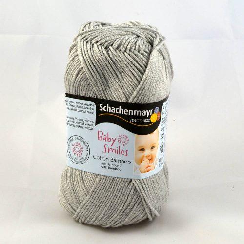 Cotton Bamboo 1090 perlová sivá