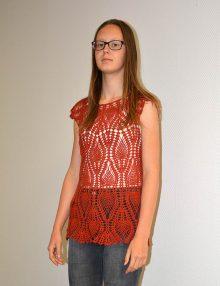 Top ananás Crochet 1