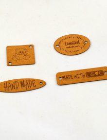 Dekoračné štítky z prateľného papiera