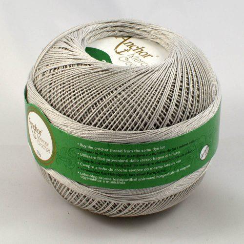 Anchor Mercer Crochet 20 234 svetlá sivá