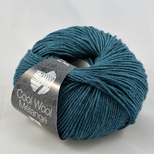Cool Wool 107 petrolejová modrá