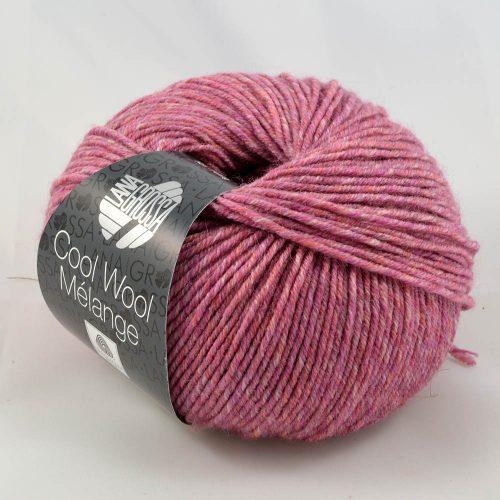 Cool Wool 130 malinový kompót melanž