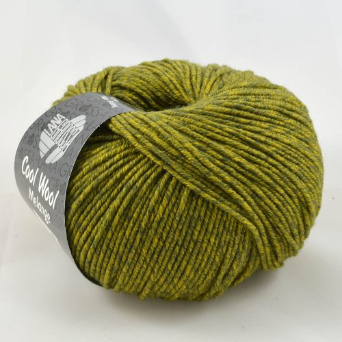 Cool Wool 140 olivová melanž