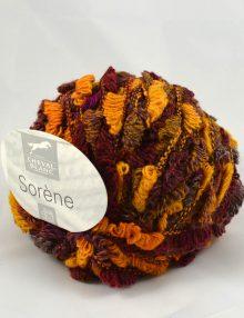 Sorene 252 fialová/bordová/žltá