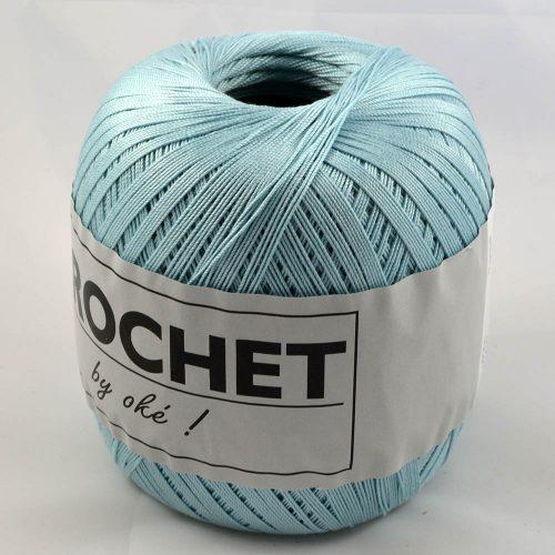 Crochet 210 ľadová modrá
