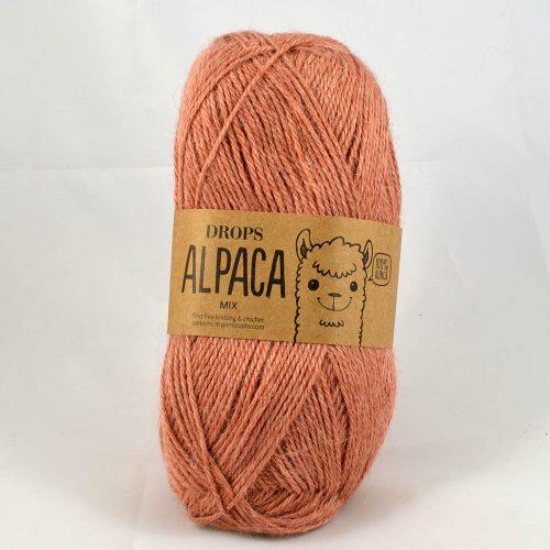 Alpaca mix 9026 ružové drevo