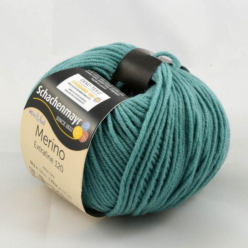 Merino extrafine 120 176 smaragdová