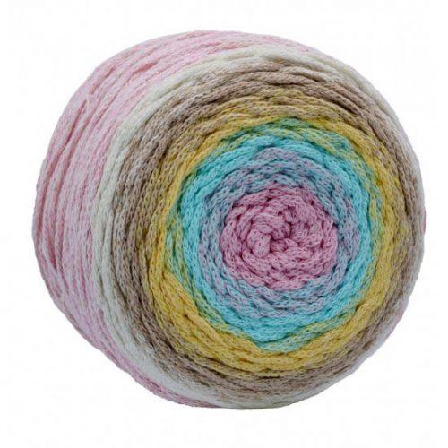 Macrame pastelové farby