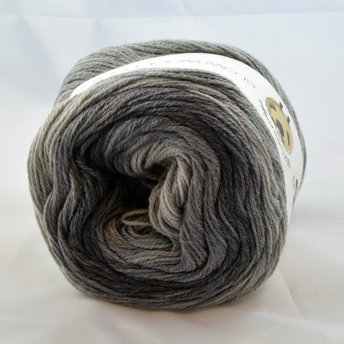 Slow Wool Lino degradé 206 sivá