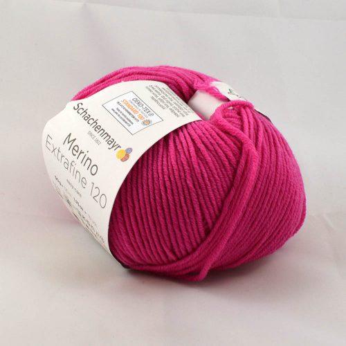 Merino extrafine 120 137 pink ružová