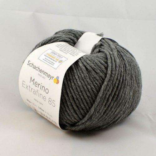 Merino extrafine 85 292 stredná sivá