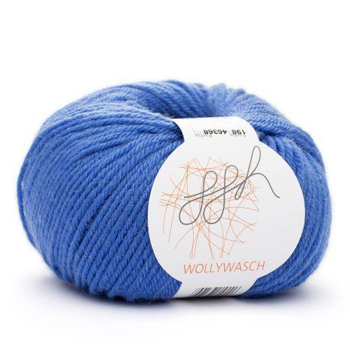 Wollywasch 198 zafírová modrá