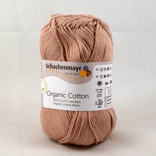 Organic Cotton 36 ružové drevo